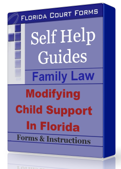 DIY Self Help Guide Modifying Child Support in Florida